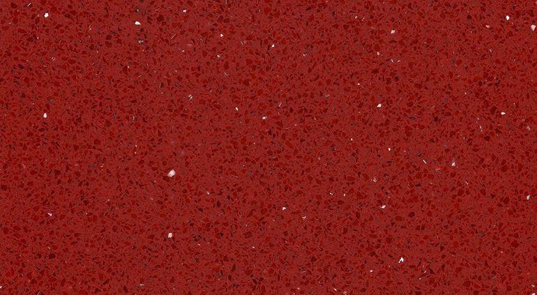 Technický kameň Rosso Stardust